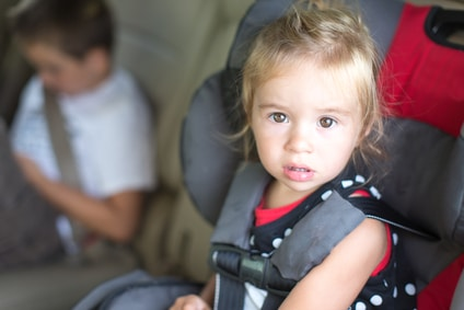 child accidents, car accidents, California Law