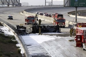 Freeway Truck Accidents in Los Angeles | Los Angeles Trucking Injury
