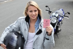 Woman with a License